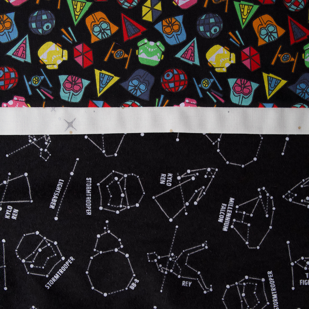 Star Wars Constellations - Pillow Case Kit - FLANNEL