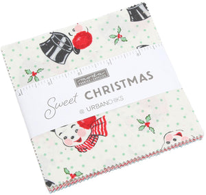 Sweet Christmas by Urban Chiks - Charm Pack