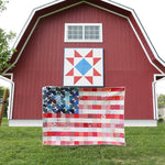 Yankee Doodle Dandy Quilt Kit (Saturated)