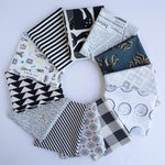 Black and White - Fat Quarter Bundle