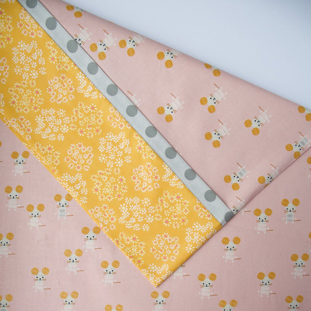 Sunshine Mice - Pillow Case Kit