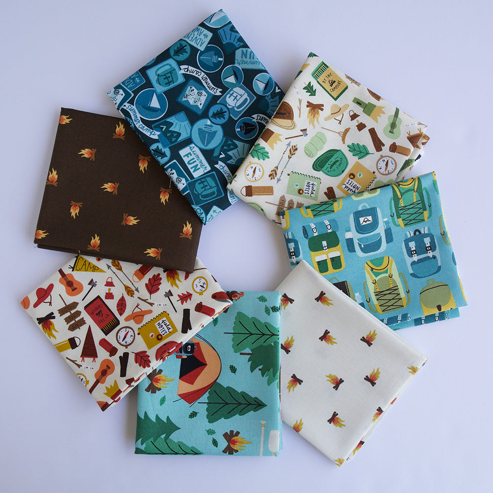 Camp Gear - Fat Quarter Bundle