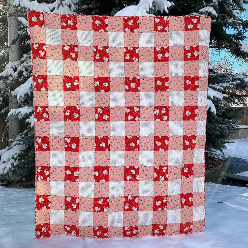 Christmas Buffalo Plaid Quilt Kit
