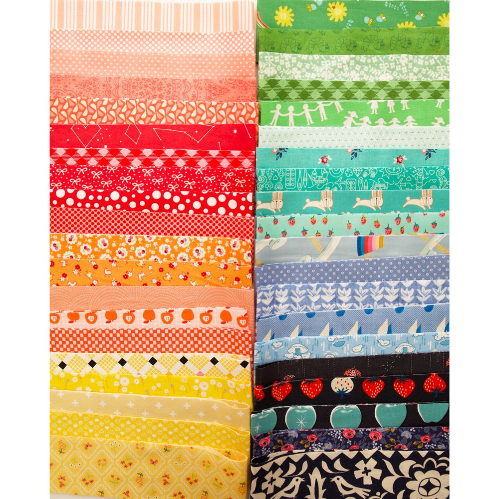 "Colorful 2.5"" Roll - Fabric Bundle"