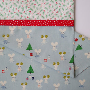 Frost Little Friends (Aqua) - Pillow Case Kit