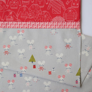 Frost Little Friends (Gray) - Pillow Case Kit