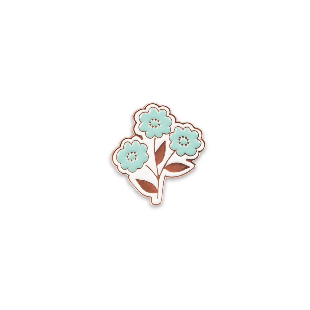 Handpicked Flowers Enamel Pin (By Lella Boutique)