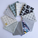 Gray - Fat Quarter Bundle