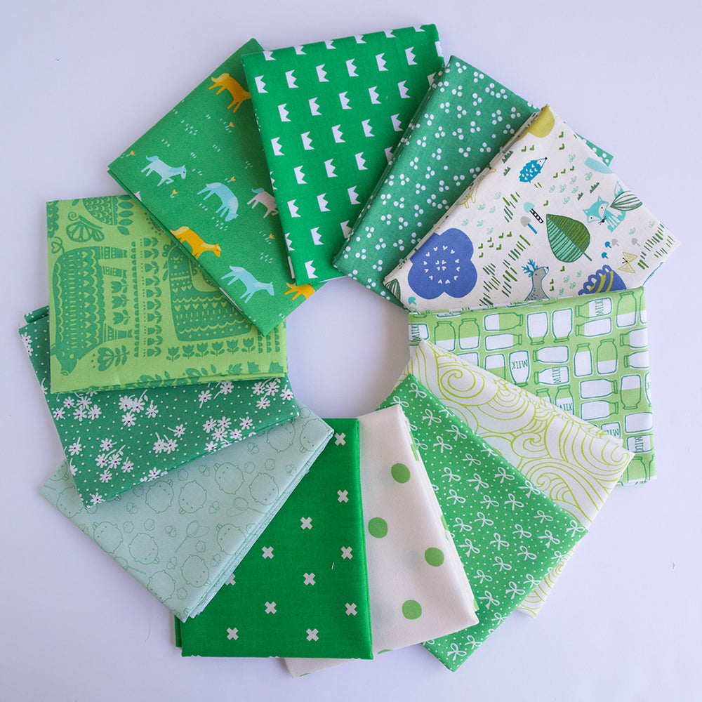 Green - Fat Quarter Bundle