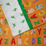 Kinder Alphabet (Orange) - Pillow Case Kit