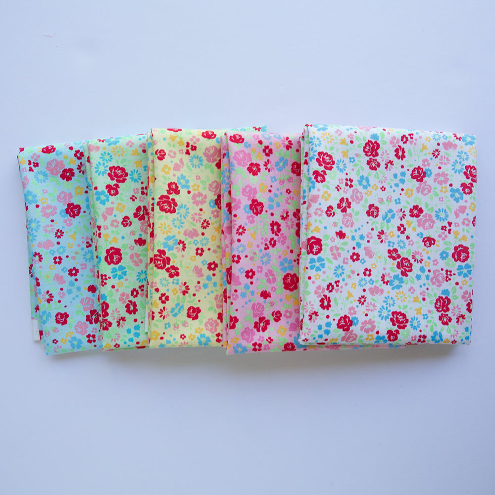 Lecein Floral - Fat Quarter Bundle
