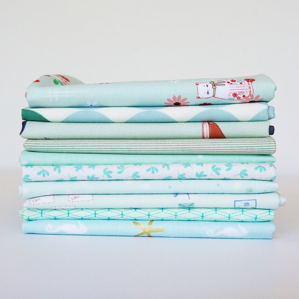 Light Mint - Fat Quarter Bundle