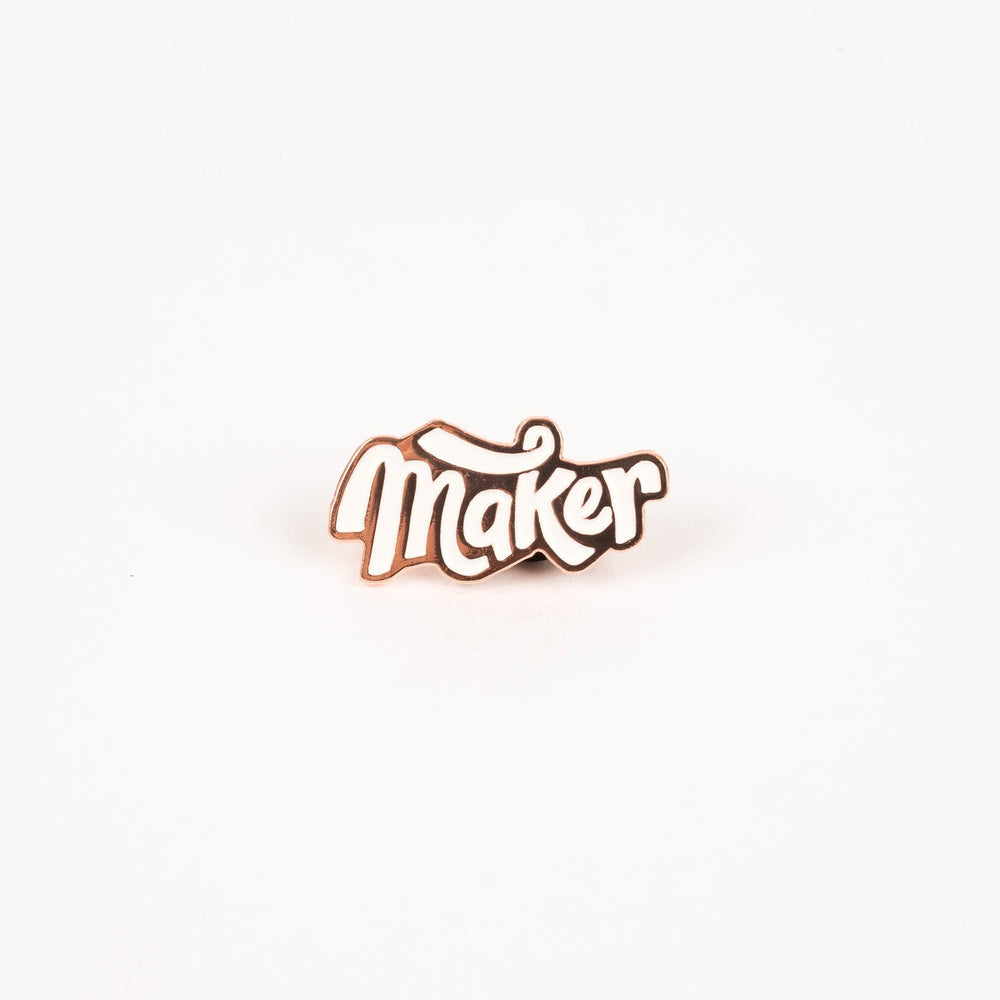 Maker - Enamel Pin
