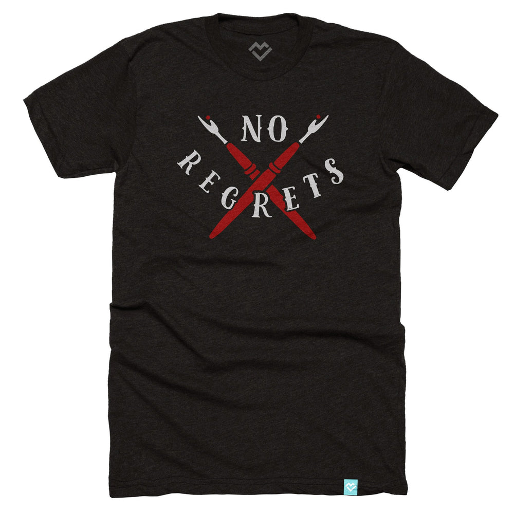"""No Regrets"" Seam Ripper T-shirt - Maker Valley"