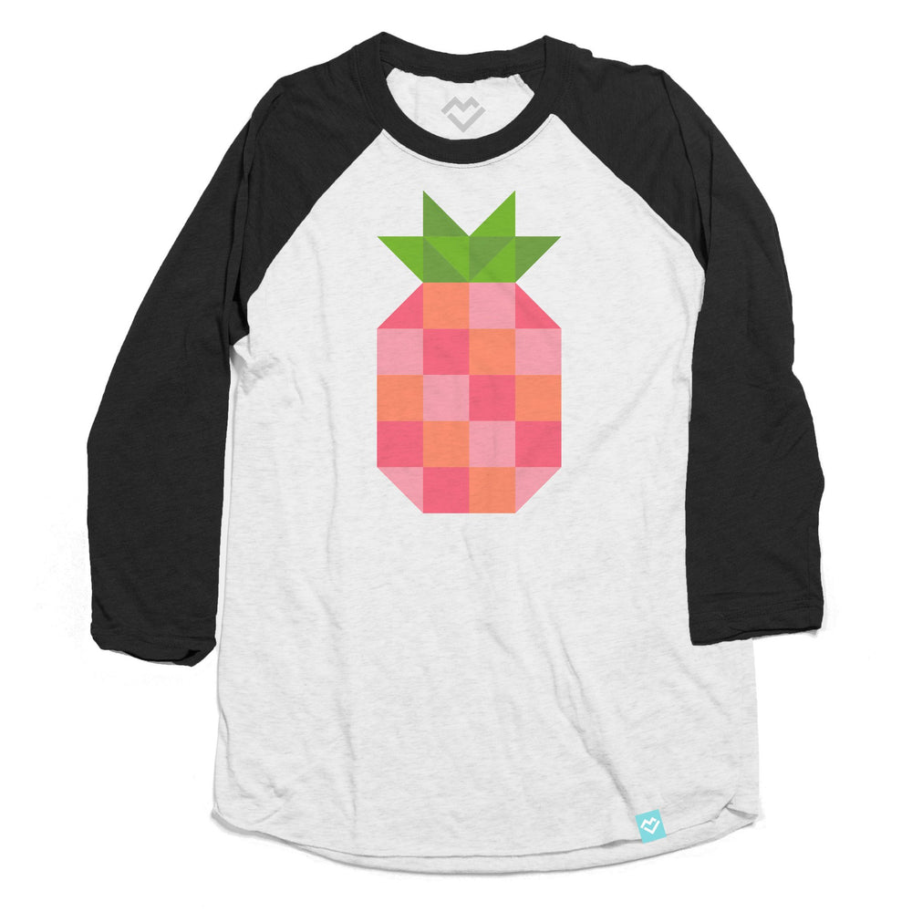 Pineapple Block Raglan
