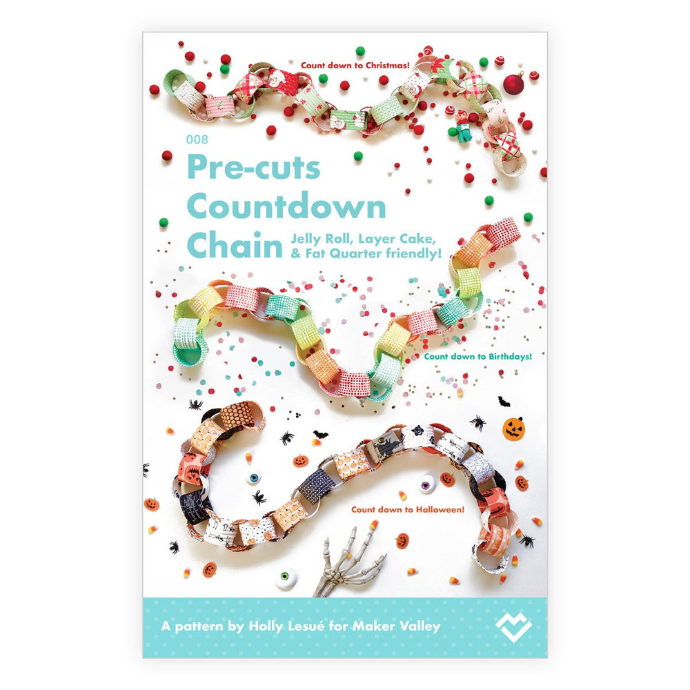 Pre-cuts Countdown Chain - Pattern
