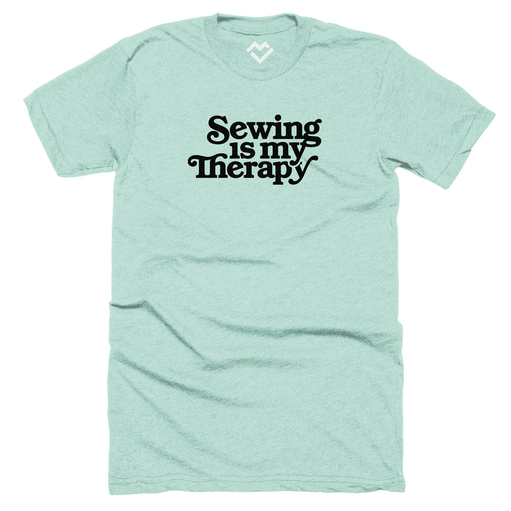 Load image into Gallery viewer, Sewing is My Therapy T-shirt