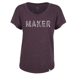Load image into Gallery viewer, Sewing Maker T-shirt - Vintage Purple