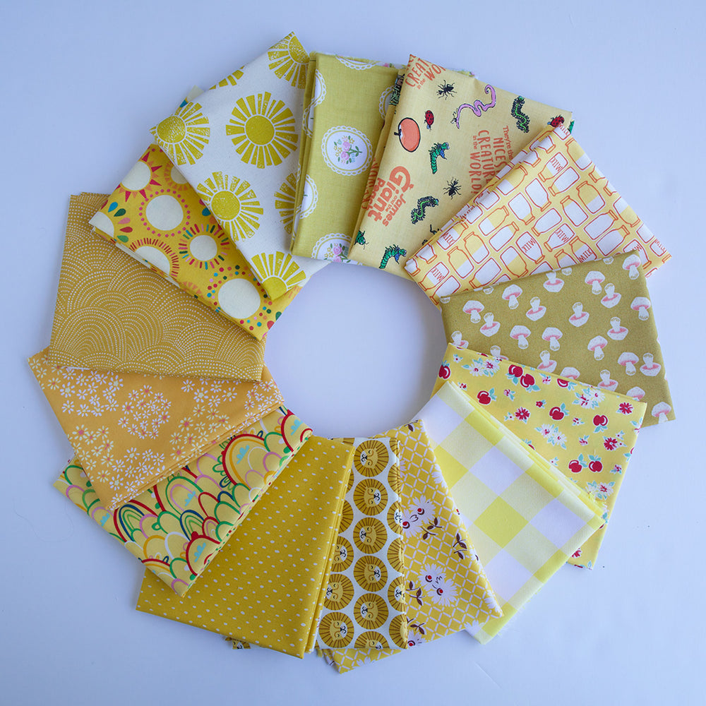 Yellow - Fat Quarter Bundle