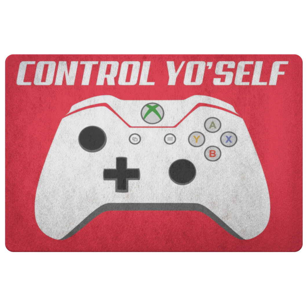 Control Yo'Self Doormat