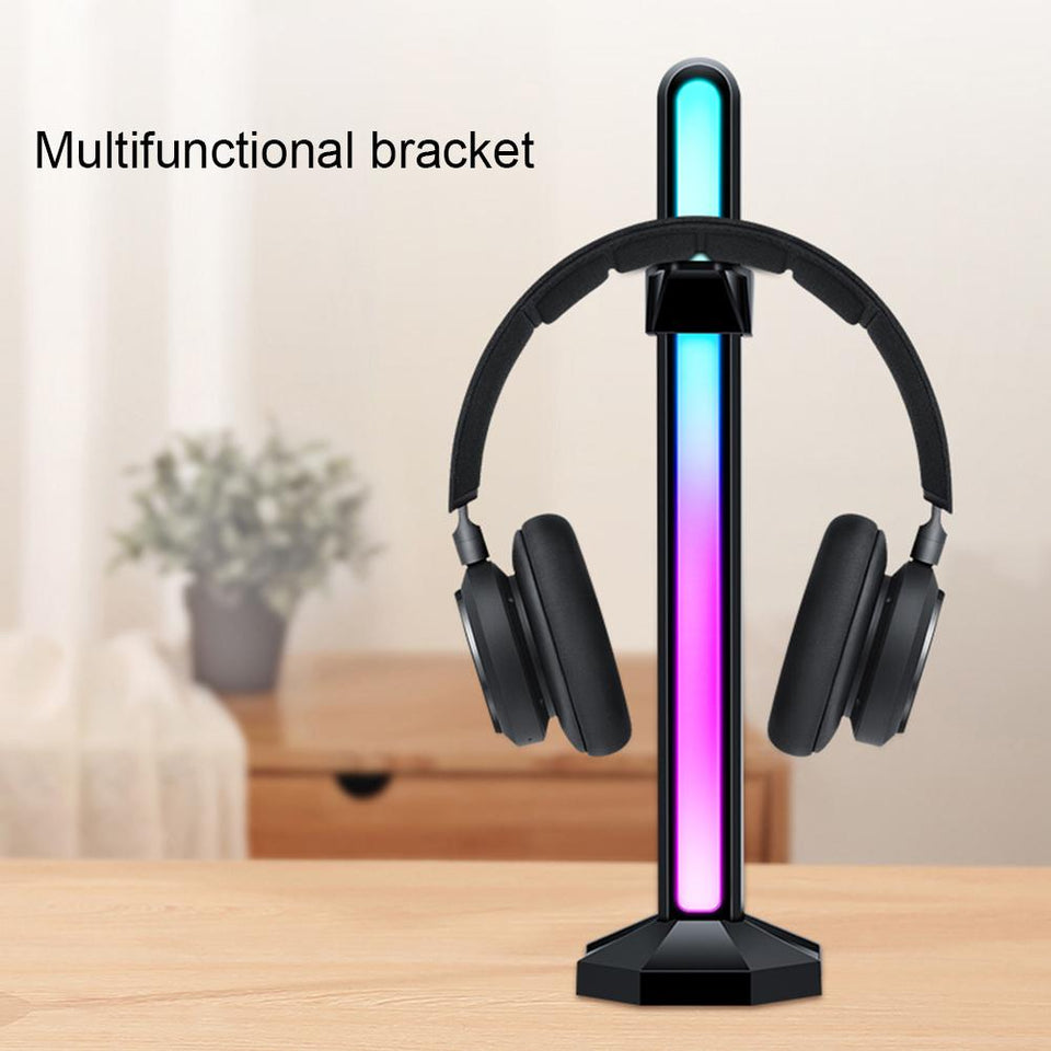 5V 3Pin ARGB Light Graphics Card Vertical Support Magnetic Headset Holder Stand