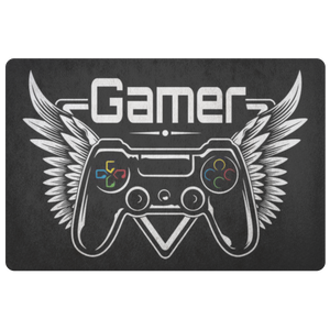 Winged Gamer Doormat