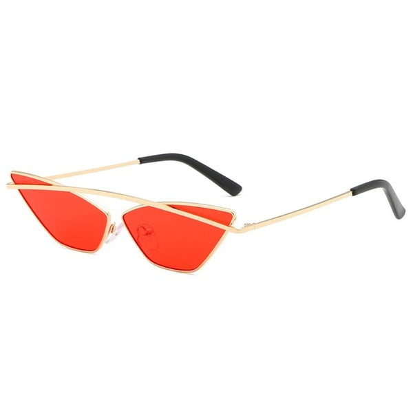 Small Narrow Cat Eye Sunglasses