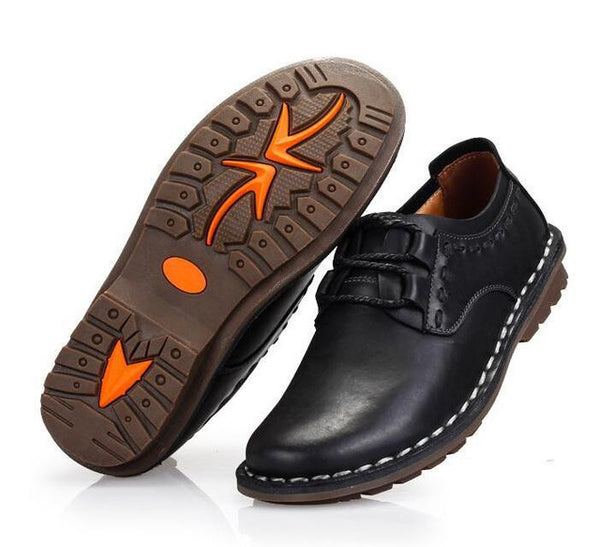 men Shoes men Casual 100% Genuine Leather