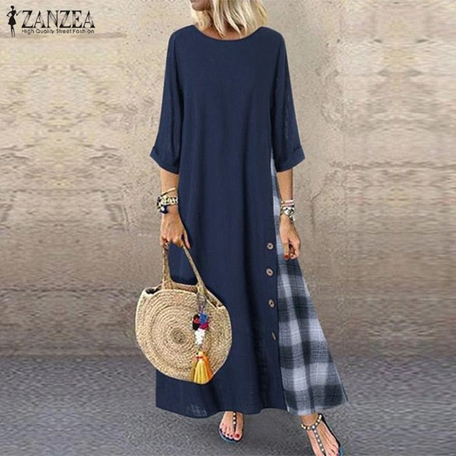 Women's Check Sundress