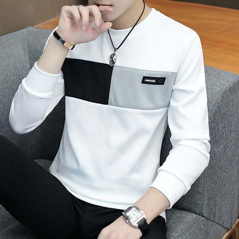 New T - shirt Men's Long Sleeve Shirt