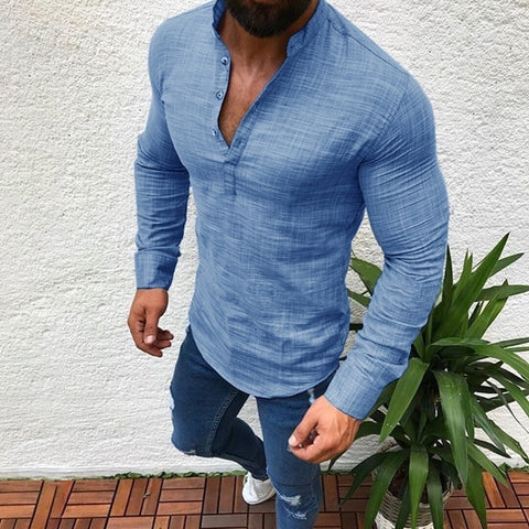 Men's Fashion Long Sleeve T-shirts
