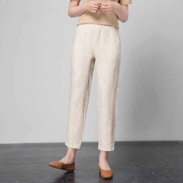 Women's Casual OL Office Pencil Trousers