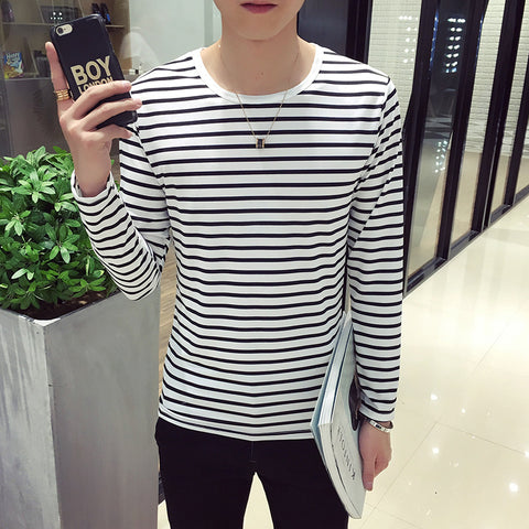 Spring Autumn Men T Shirt T-shirt