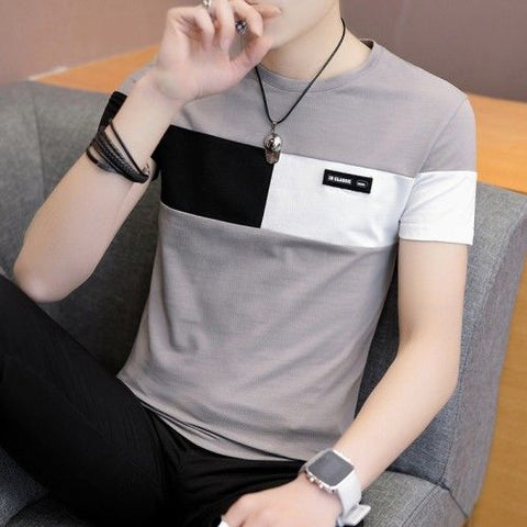 95% cotton Short Sleeve male T-shirt