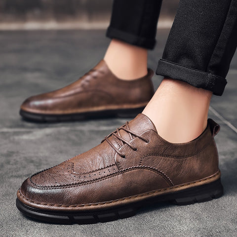 Handmade Brand Male Dress Shoes