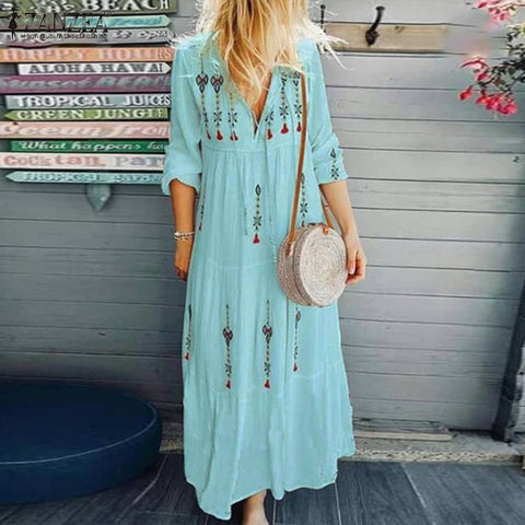 Women's Autumn Sundress