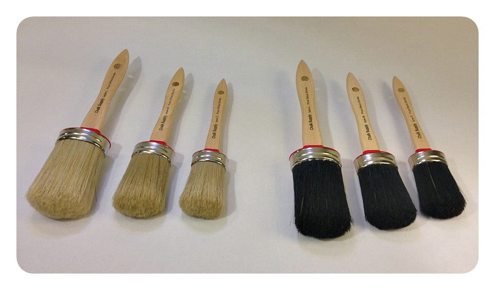 Paint & Wax Brushes