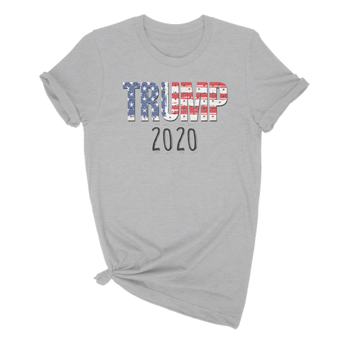 Trump 2020 Flag - T Shirt