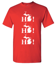 Load image into Gallery viewer, Adult T-Shirt - Ho!Ho! Ho!