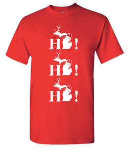 Adult T-Shirt - Ho!Ho! Ho!