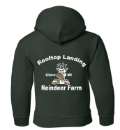 Load image into Gallery viewer, Kids Sweatshirt - Green Logo