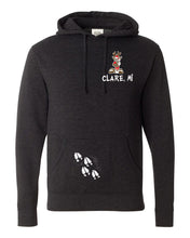 Load image into Gallery viewer, Hooded Sweatshirt - Charcoal Heather