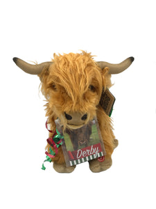 Derby Plush Highland Cow