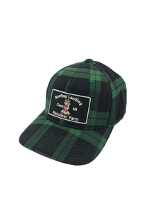Green Plaid Cap