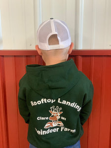 Kids Sweatshirt - Green Logo