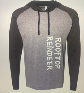 Long Sleeve Hooded Raglan T-Shirt