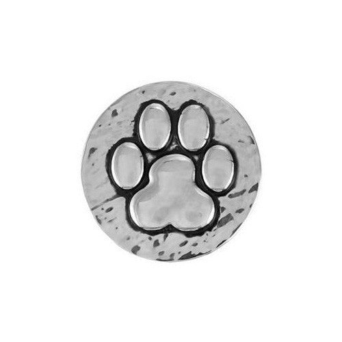Ginger Snaps HAMMERED PAW PRINT