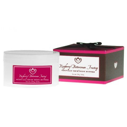 Jaqua Beauty Raspberry Buttercream Frosting Boxed Body Butter