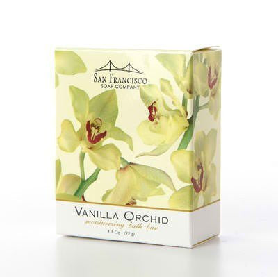 Vanilla Orchid Moisturizing Bath Bar
