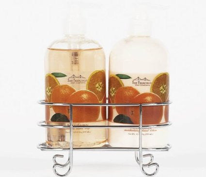 San Francisco Soap Company Hand Lotion and Soap Caddy Set (Mandarin)